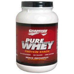 Champion Nutrition Pure Whey Protein Stack - Chocolate - 2.2lbs.
