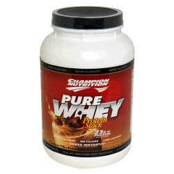 Champion Nutrition Pure Whey Protein Stack - Cocoa-Mochaccino - 2.2lbs.