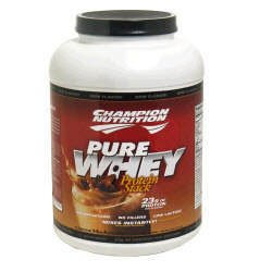 Champion Nutrition Pure Whey Protein Stack - Cocoa-Mochaccino - 5lbs.