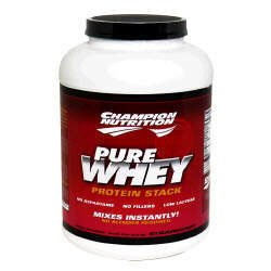 Champion Nutrition Pure Whey Protein Stack - Strawberry - 5lbs.
