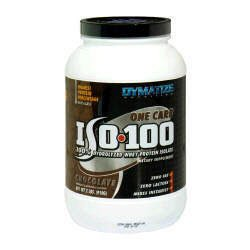 Dymatize Nutrition ISO-100 100% Hydrolyzed Whey Protein Isolate - Chocolate - 2lbs.