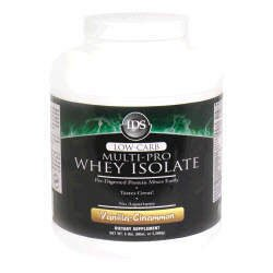 IDS Low-Carb Multi-Pro Whey Isolate - Vanilla-Cinnamon - 5lbs.