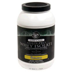 IDS Low-Carb Multi-Pro Whey Isolate - Banana - 32oz.