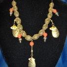Golden Spinner Allure Necklace