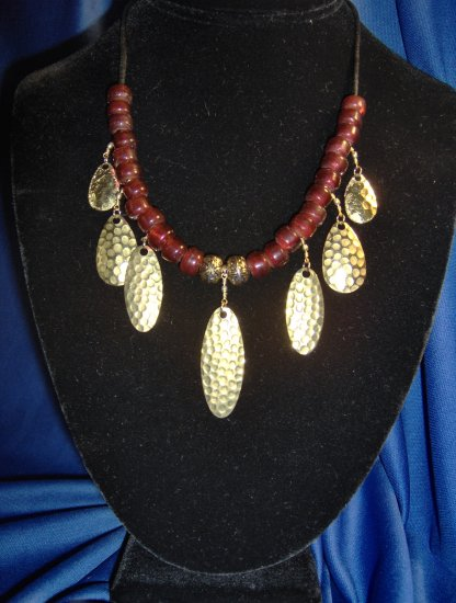 Spinner and Spoon Allure Necklace