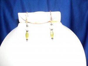 Green Allure Earrings