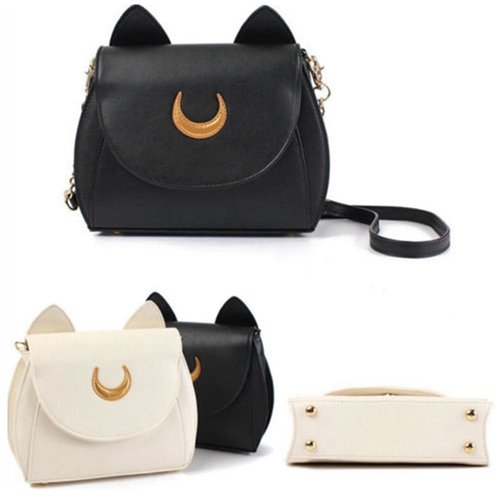 Sailor Moon Samantha Luna 20th Anniversary PU Leather Bag Cosplay Shoulder Bags