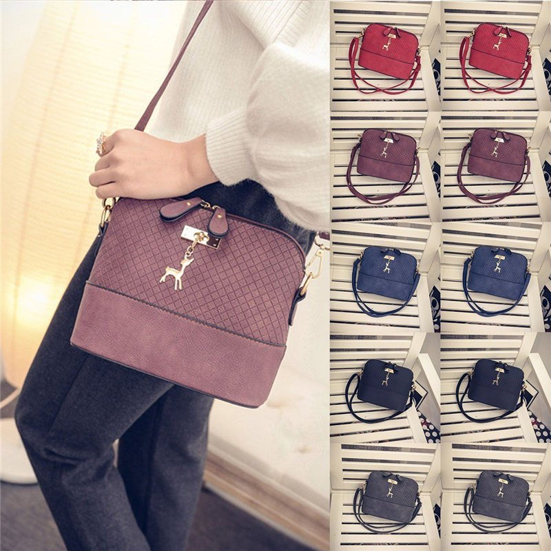 2017 New Handbag Lady Shoulder Bag Tote Purse Women Messenger Hobo Crossbody Bag