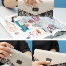 Womens Ladies Envelope Button Clutch Purse Brand Long Handbag Bag Leather Best