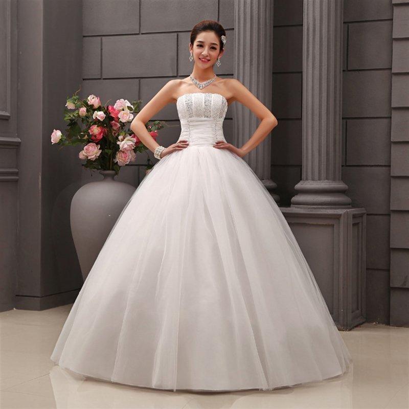 2016 Vintage Lace Bridal Dresses Gown Wedding Dress Gown Custom Dressing Sz 6-18
