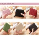 Faux Leather Zip Wallet Purse Long Card Holder Case Clutch Handbag Short Bag Top