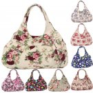 Women Canvas Tote Shoulder Messenger Lady Handbag Hobo Small Bag New Hot Newest