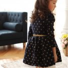 NEW Kids Toddlers Girls Clothing Princess Long Sleeve Tutu Dress Skirt Size 2-7Y