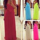 Women's/Lady Summer Boho Long Maxi Dress Evening Cocktail Party Beach Sundress