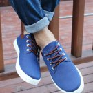 Men's New Lace Up Flats Low-Top Board Canvas Flat Shoes Casual Loafers Sneakers