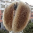 Women & men UNISEX Winter Faux raccoon fur Faux raccoon fur scarf shawl collar