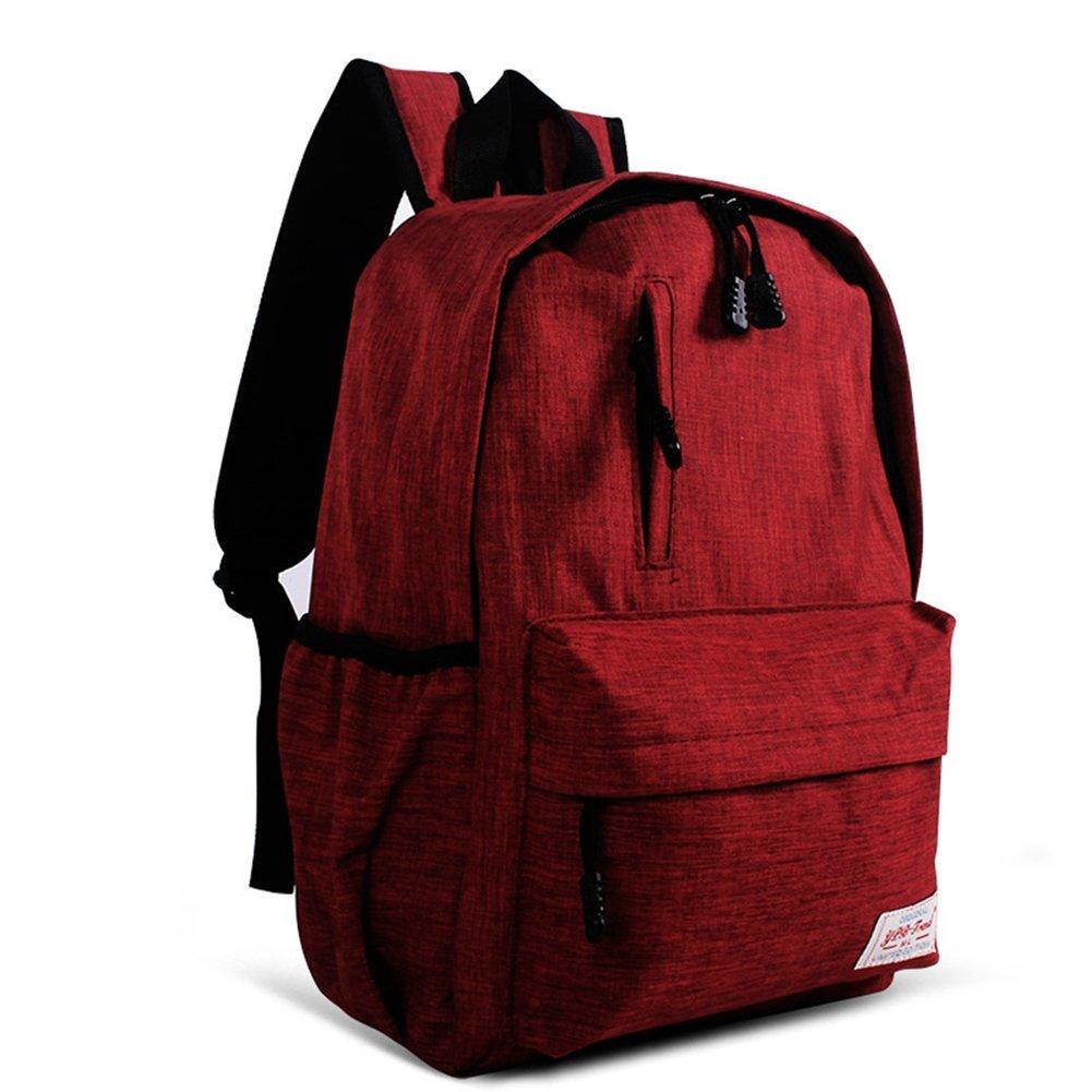 Men Women Canvas Shoulder School Backpack Travel Satchel Rucksack Handbag 2016