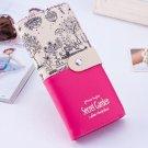 Women Ladies Girls PU Leather Card Holder Long Purse Wallet Clutch Handbag US