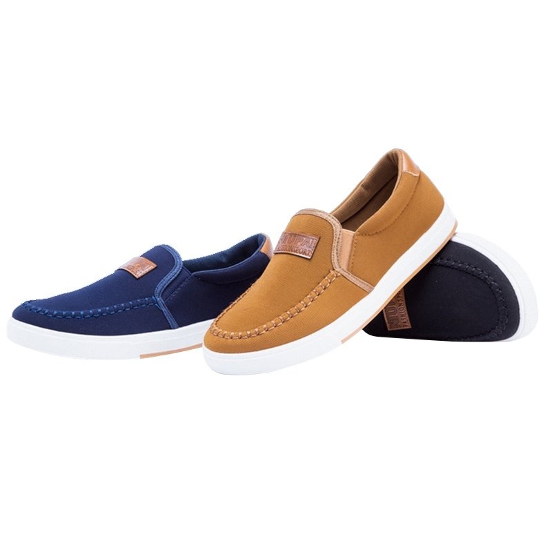 Men's driving shoes canvas shoes Breathable slip-on shoes fashion sneakers 2016