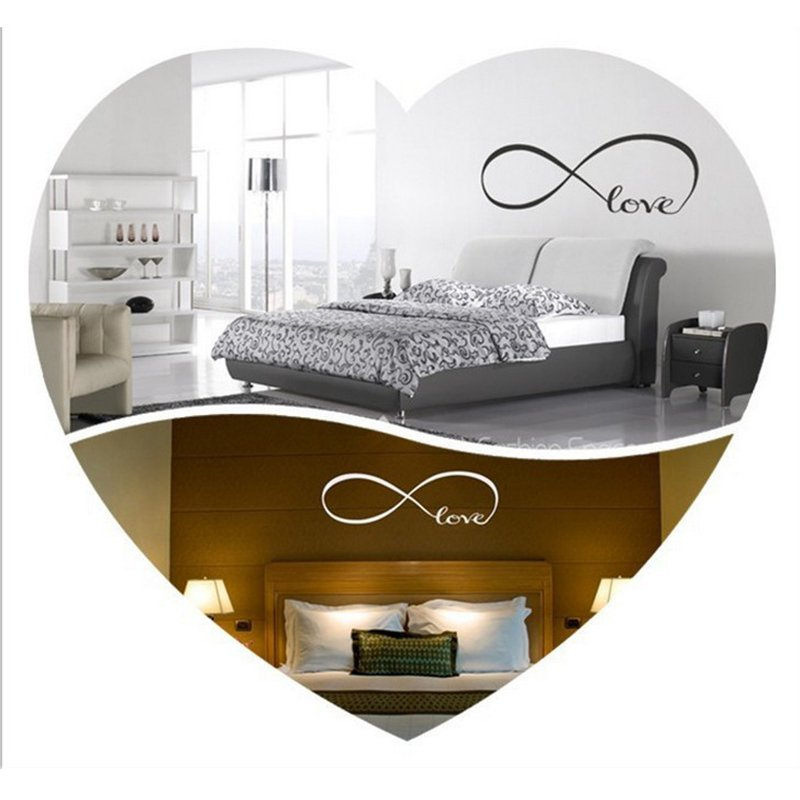 Super Removable Vinyl Quote Wall Stickers Decal Mural Home Decor PVC Love DIY