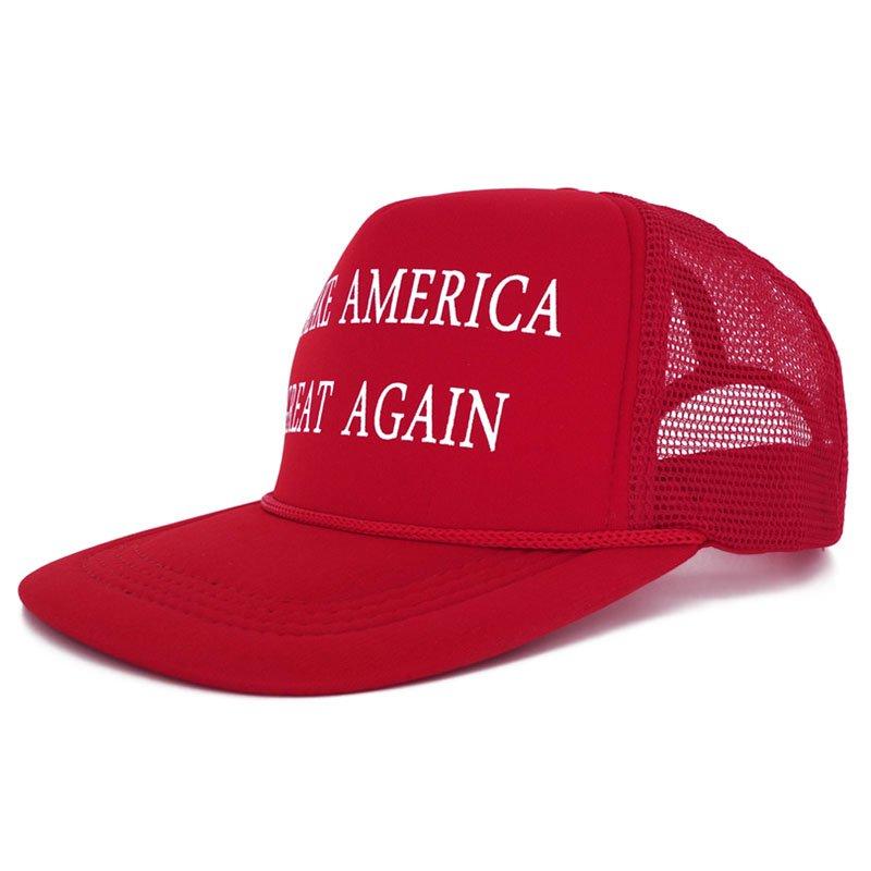 Make America Great Again Hat Donald Trump 2016 Republican Hat Cap Red