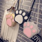 Women Girl Cute Satchel Shoulder Crossbody Messenger Bear Claw Handbag Fashion