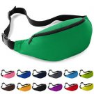 Outdoor Sport Bum Bag Fanny Pack Travel Waist Money Belt Zip Pouch Wallet Cute