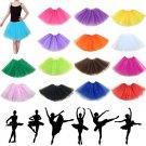 Women's Ballet Dancewear Tutu Pettiskirt Princess Party Skirt Mini Miltu Dresses