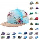 Tropical Scenery Hiphop Hat Snapback Baseball Cap Adjustable Beauty Print Hats