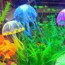 Artificial Jellyfish/Sea Horse/Lionfish/Coral Ornament Aquarium Fish Tank Unique
