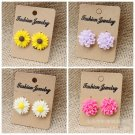 Details New Chic Fashion Beauty Women's Flower Type Ear Stud Earrings Drop Cute
