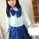 Fashion Kids Baby Girls Toddler Shirt Dress + Keen Dress Set Clothes Hot Cute
