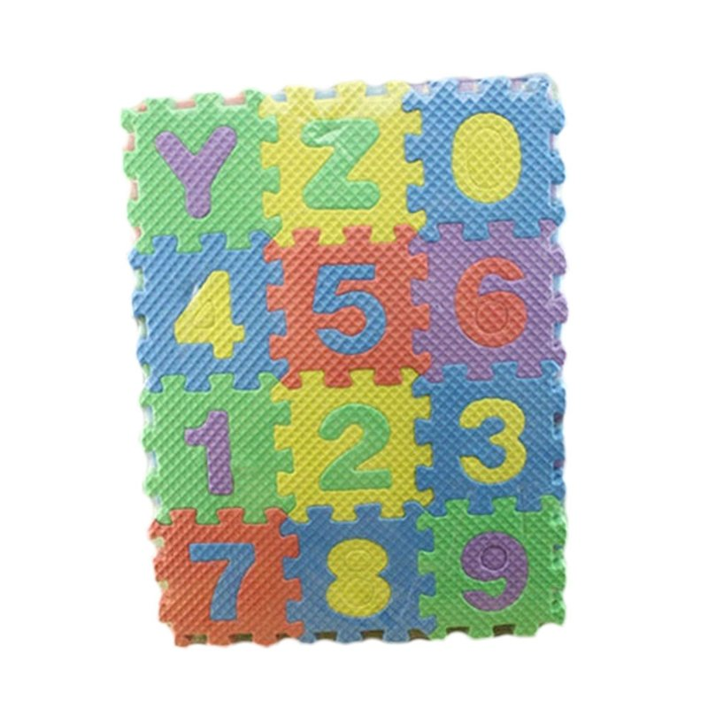 36 pcs Puzzle Kid Educational Toy Alphabet A-Z Letters Numeral Foam Mini Unique