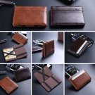 Men Chic PU Magic Bags Money Clip Slim Wallet ID Credit Card Handbag Hot Unique