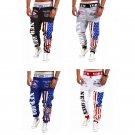 Men's Casual Sweatpants Jogger Dance Sportwear Baggy Harem Slacks Trousers SIze