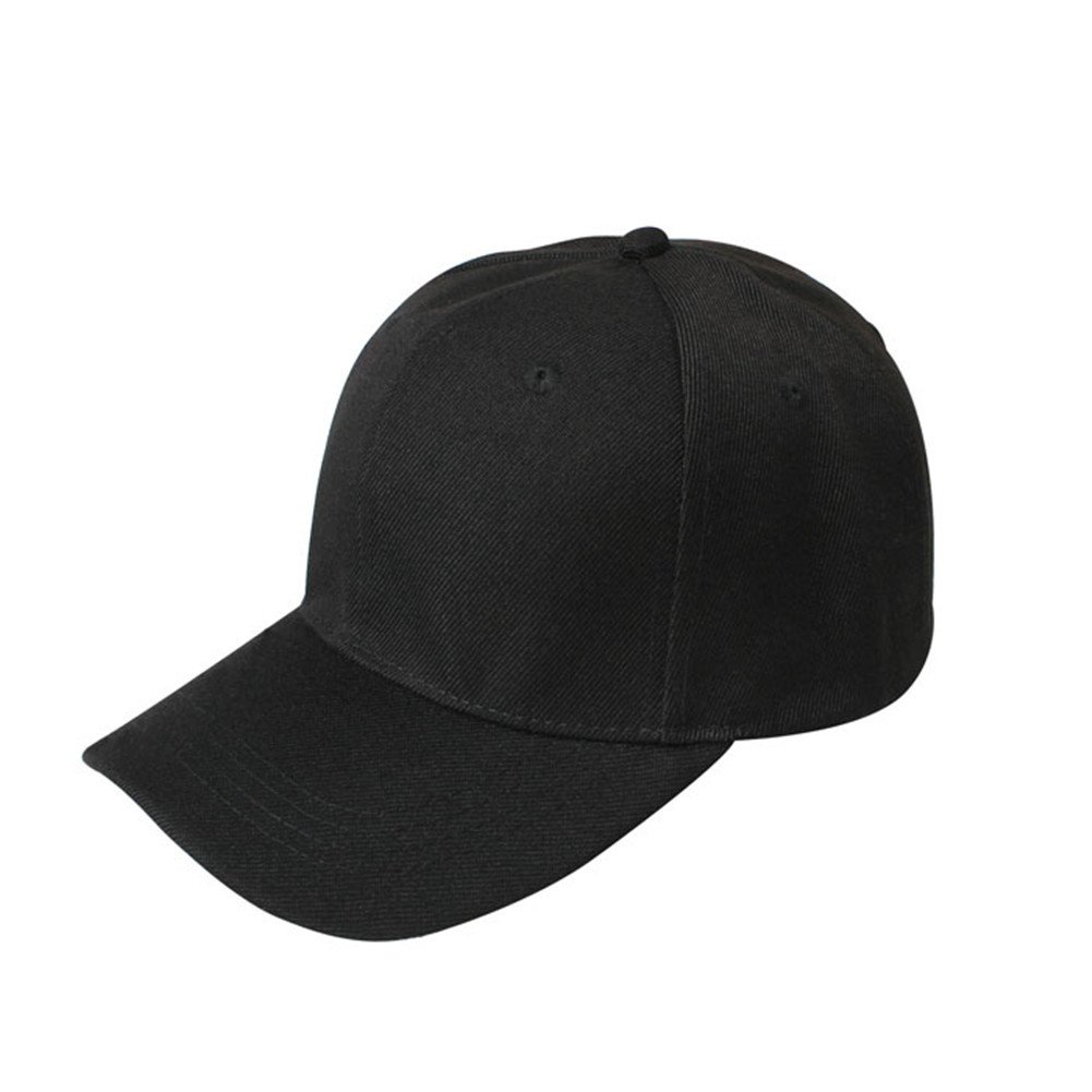 Brand New Unisex Baseball Cap BASEBALL CAP 100% COTTON HAT - ADJUSTABLE -  Strap