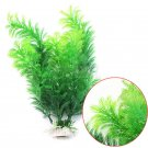 Aquarium Decor Planting Artificial Plastic Underwater Grasses Stands To Plants