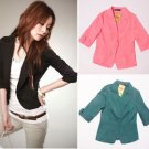 Business Suit Clothing Slim OL Ladies Womens Suit Coat Blazer Jacket HOT Newest