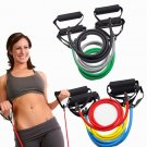 Resistance Band Yoga Pilates Abs Exercise Fitness Tube Workout Bands