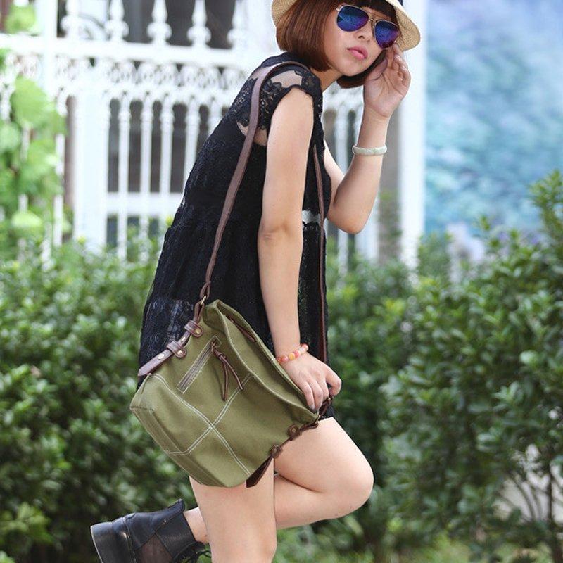 LADIES CARTOON PRINT SATCHEL CROSS BODY MESSENGER SHOULDER GIRLS Fashion Style