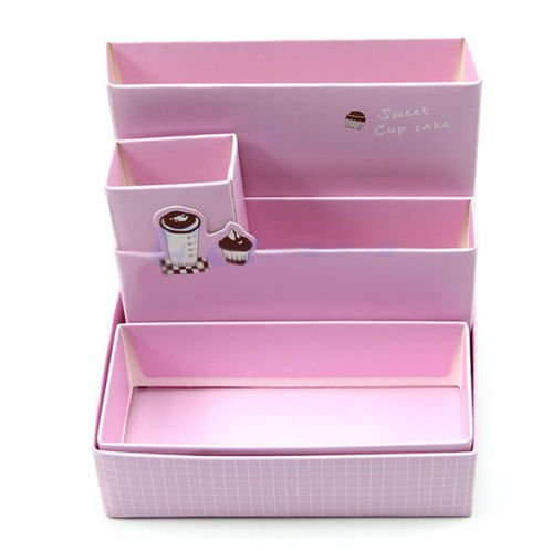 Hot Cosmetic Organizer Clear DIY Makeup Drawers Holder Case Box Jewelry Storage
