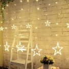 2M Christmas Stars Wedding Party Curtain Fairy Xmas String Lights