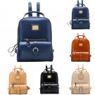 Lady Girl Travel Satchel Shoulders Backpack School Rucksack Black Book Bags Cool