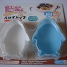 Penguin Silicone Dish Cup / set 2