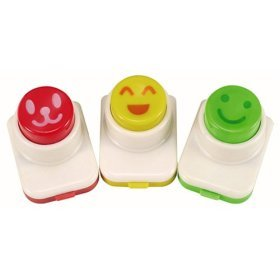 Set of 3 Nori Face Punches, set #3