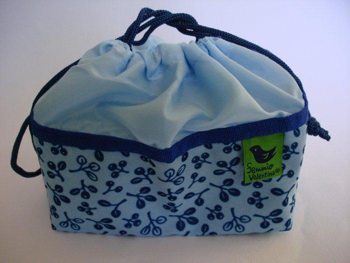 Blue Berry Design Drawstring Bento Bag