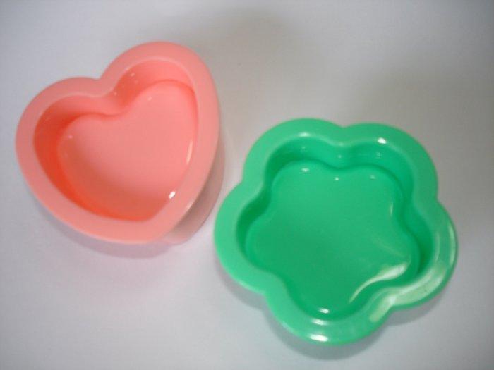 Heart and Flower Onigiri Molds