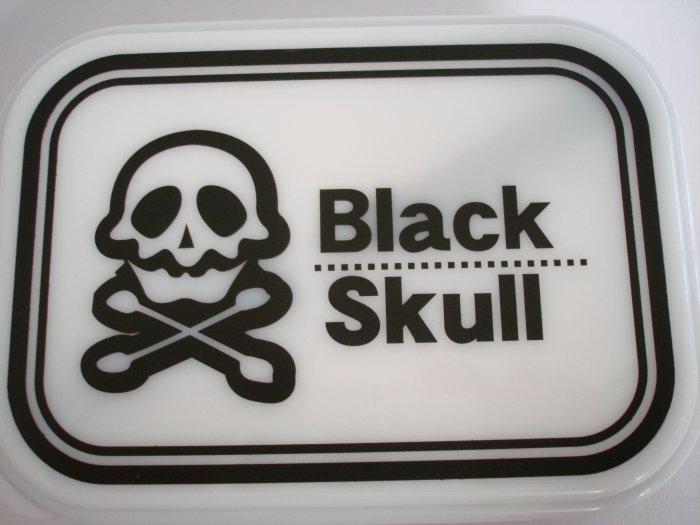 Black Skull One Tier Bento Box