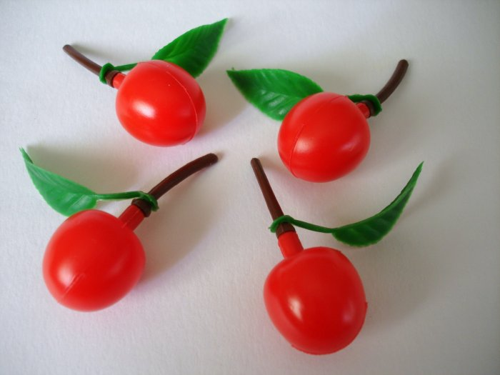 Cherry Stems Sauce Bottles for Bento