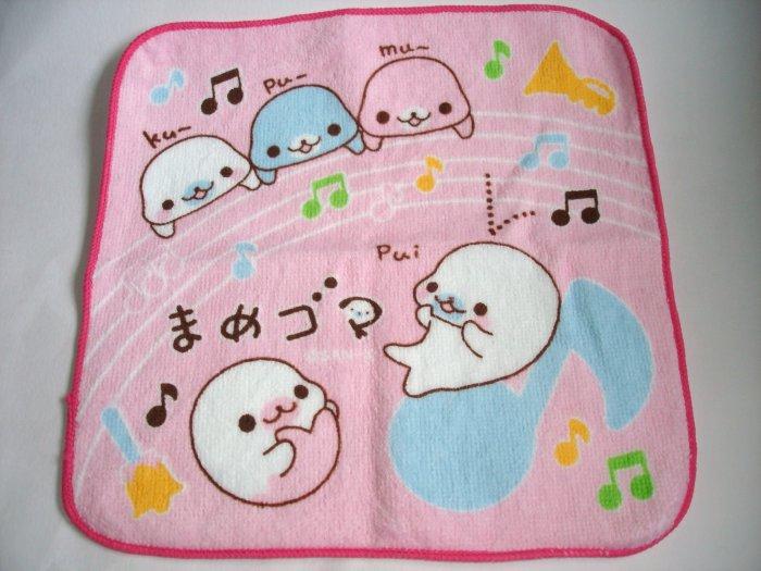 San-X Mamegoma Oshibori, pink